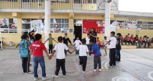 Antorcha da taller para prevenir delito en escuela de Ocoyucan
