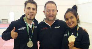 BUAP gana 2 oros y 2 platas en arranque de Universiada Nacional 2018