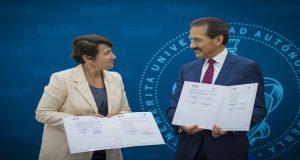 BUAP firma con el Instituto Francés de América Latina para cursos