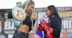 """Invitan a combate de """"La Barby"""" Juárez en Feria de Puebla"""
