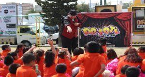 DIF estatal festeja a los niños de casas de asistencia