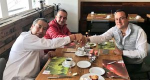 Estefan reúne a Deloya y Soto para limar asperezas en desayuno