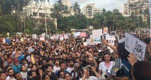 India, en medio de las protestas tras muerte de una niña