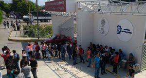 Revisan Tecnológico y Cbtis de Tehuacán por amenaza de bomba. Foto: Especial