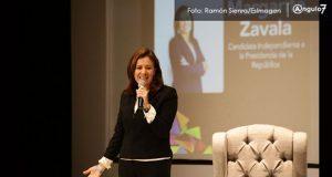 Propone Zavala que Estado cubra gastos de hijos víctimas de feminicidios