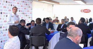Riestra presenta propuestas a la CMIC en beneficio de constructores