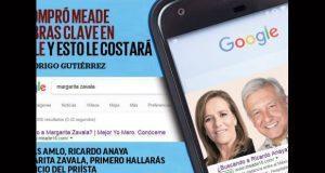 Meade y Anaya comprarían palabras claves en Google para anunciarse