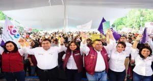 Pide Mónica Lara recordar feminicidios y privatización del agua al votar