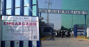 SAT pone sellos de embargo en empresa de candidato a diputación local por CPP