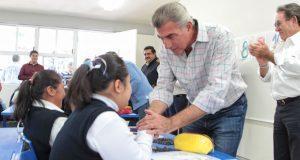 Amplían Centro de Atención Múltiple de Tetela de Ocampo