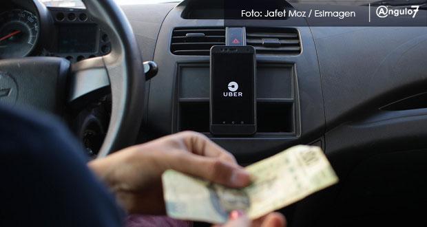 Niegan a Uber amparo para cobrar en efectivo en Puebla