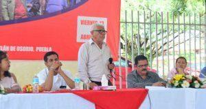 Ulises Córdova habla sobre vanguardia estudiantil en Amatitlán