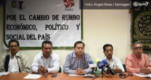 UNT marchará con 10 mil el 1 de Mayo en Puebla