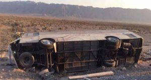 Volcadura de camión en Coahuila deja 7 muertos