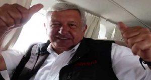 AMLO defiende uso de avioneta privada en campaña; costó 66 mil pesos