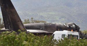 Mueren 257 personas por accidente de avión militar en Argelia