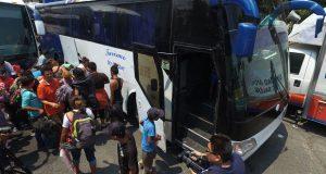 Viacrucis del Migrante 2018 deja Puebla tras 4 noches y va a CDMX