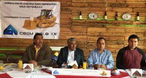 15 constructoras de Acoem reconstruyen escuelas de Tehuitzingo