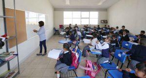 Gali supervisa reconstrucción de primaria en San Pedro Atlixco