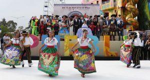 Gali y Banck inauguran Feria de Puebla