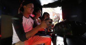 Con 42 máquinas, abren zona de videojuegos en Feria de Puebla