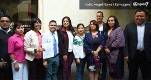 4 de 7 candidatos a la alcaldía de Puebla firman agenda de igualdad de género
