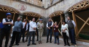 Más de 450 edificios dañados, con recursos para restauración: Gali
