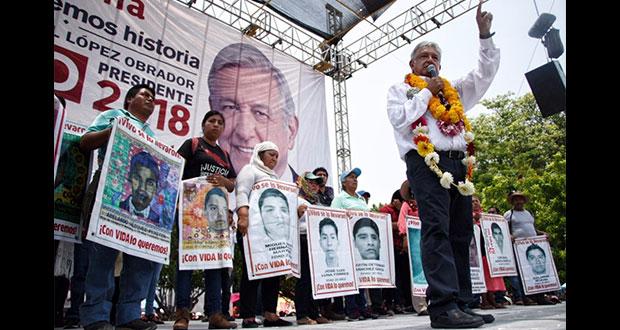 ONU debe asumir investigación de los 43 de Ayotzinapa: AMLO