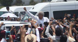 """Martha Erika minimiza factor de AMLO en Puebla, """"no compito contra él"""""""