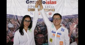 Candidata del PVEM declina por Gerardo Islas