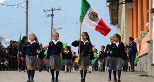 Conmemoran 156 aniversario de la Batalla de Puebla en Huitzilan