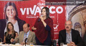 Claudia Rivera evaluaría secretarías antes de desaparecerlas o fusionarlas