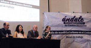 Comuna y sociedad analizan proyecto de peatonalización del CH
