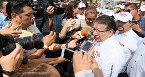 Confirma Doger que Estefan va al CEN y Cacique dirigirá el PRI de Puebla