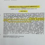 Doger prueba que Barbosa uso un crédito y no dos para comprar casa