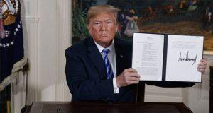 Estados Unidos se retira de acuerdo nuclear con Irán: Trump