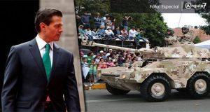 En último año de gestión, EPN no asistiría a desfile del 5 de Mayo en Puebla