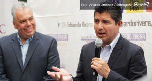 Con ferias de comida y oficina de eventos, Eduardo Rivera atraerá turismo