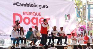Gobiernos panistas olvidaron atender a colonias de Puebla: Doger