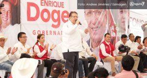 """Doger no descarta ir a tribunales por spot sobre """"la esposa de Moreno Valle"""""""