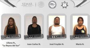 FGE confirma detención de presunta líder narcomenudista en Puebla