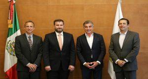 Gali y embajador de Iniciativa Mérida dialogan sobre justicia