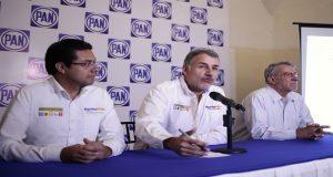 PAN acusa a Morena de retirar propaganda de Martha Erika en Zacatlán
