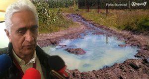 Daños en cultivos por derrames de combustible, sin acceso a apoyos: Sagarpa