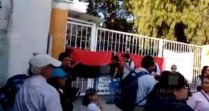 Trabajadores del Inaoe, en huelga