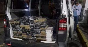 Cae sujeto que transportaba 100 kilos de cocaína en Tehuacán