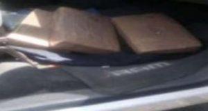 Decomisan vehículo con paquetes de marihuana en Huejotzingo