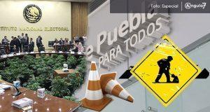INE abre proceso sancionador a Agua de Puebla por intervenir en la elección
