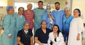 En Issstep, operan con éxito a neonato con malformación cardíaca