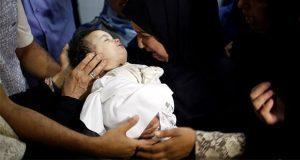 Layla AlGhandour, la bebé palestina muerta por gas lacrimógeno